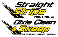 Straight Stripe Painting